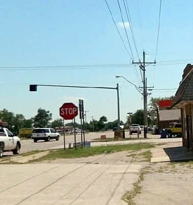 4way Stop, Union City, Oklahoma