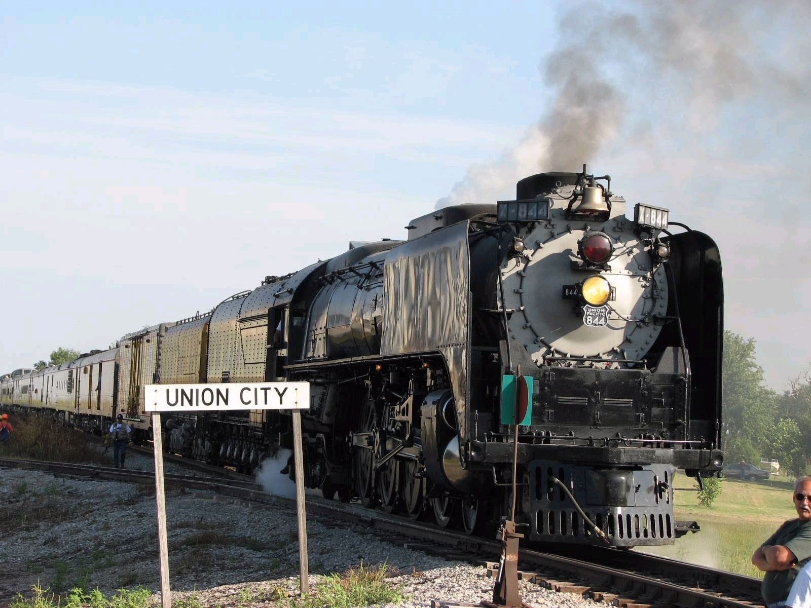 Steam Train, Union City, Oklahoma